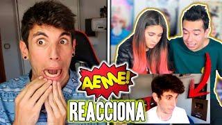 AMARA QUE LINDA y AMI RODIRGUEZ (AEME) Reaccionan a un VÍDEO MIO!!
