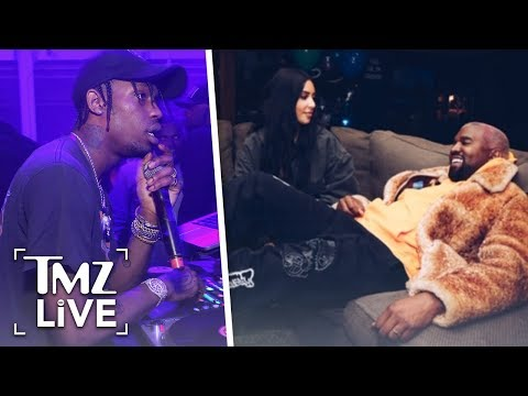 Kanye Goes To Travis Scott Show To Support Him After Feud | TMZ Live Mp3