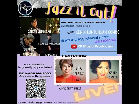 JAZZ IT OUT! with Cendi Luntungan Combo by RP Entertainment