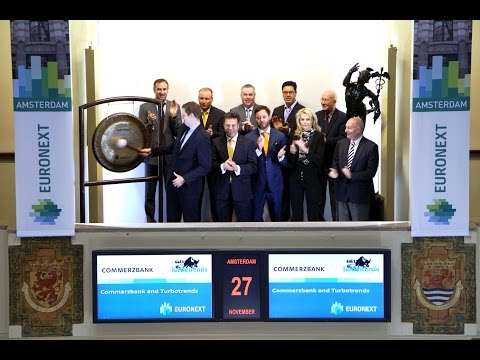 Commerzbank and Turbotrends celebrate partnership by sounding gong