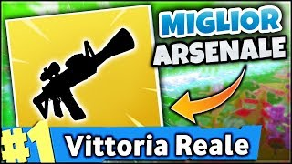 THE BEST ARSENAL TO WIN! FORTNITE ITA REAL VITTORY