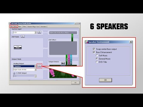 Cara Setting Software USB Soundcard CM6206 [FREE DOWNLOAD HERE]