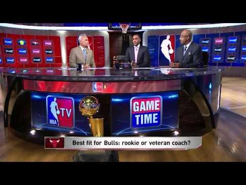 Vince Cellini, Steve Smith and Dennis Scott Interview - NBA GameTime | Tom Thibodeau as the Bulls