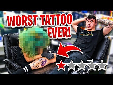 Getting a Tattoo at the Worst Reviewed Tattoo Shop in my City (1 STAR)