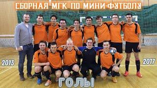 Сборная Московской консерватории по мини футболу ГОЛЫ