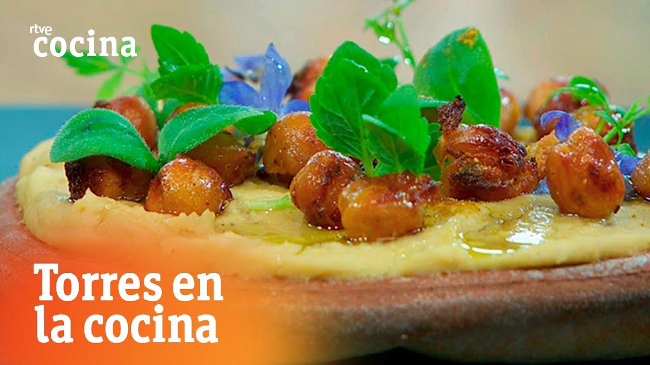 Hummus de garbanzos torres en la cocina rtve cocina for Torres en la cocina youtube