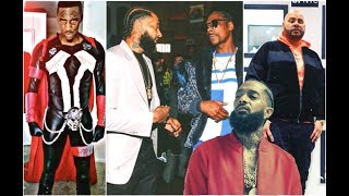 Rappers React To Nipsey Hussle's Death: Snoop Dogg, Fat Joe, Daylyt