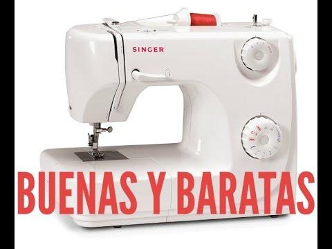 ¿Cuáles son las máquinas de coser baratas y buenas a la