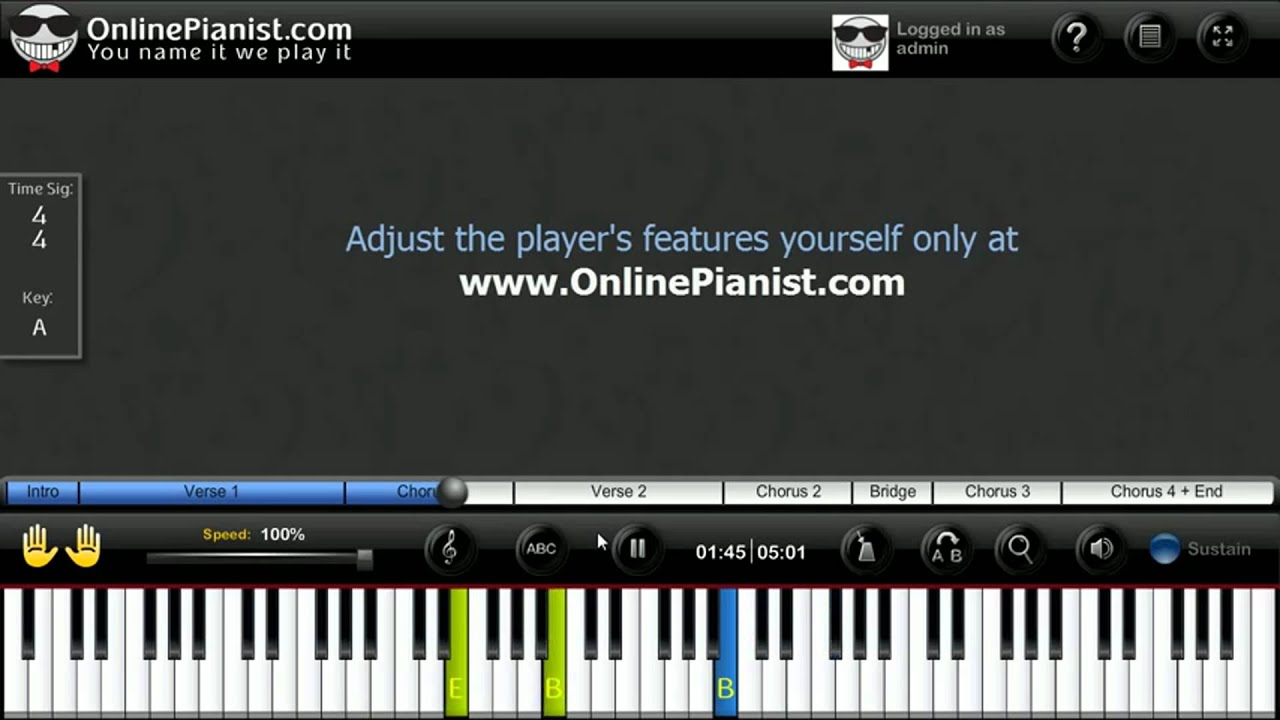 Someone like you by adele piano tutorial video onlinepianist someone like you by adele piano tutorial video onlinepianist baditri Image collections