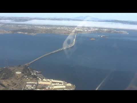 Aerial - San Quentin State Prison - Richmond Bridge