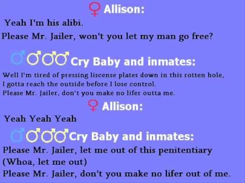 Cry Baby - Please Mr Jailer (paroles)