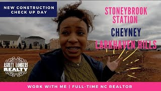 New Construction Check Uṗ Day | How to Pick a Fabulous Lot! | Work With Me | Charlotte NC Realtor