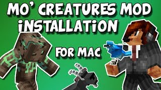  Install the Mo' Creatures Mod [Mac] [1.7.x]