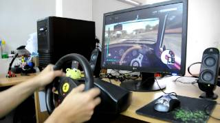DiRT3 with Thrustmaster Ferrari GT Experience