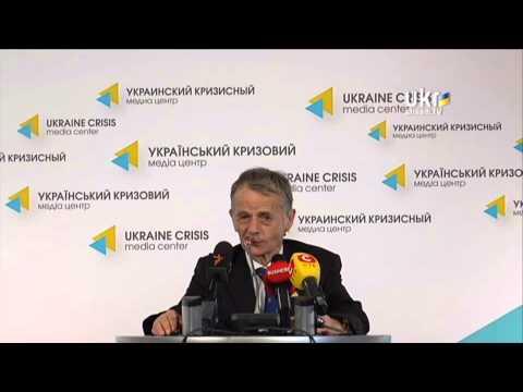 Mustafa Jemilev. Ukrainian Сrisis Media Center. April 17, 2014