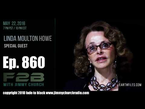 Ep. 860 FADE to BLACK Jimmy Church w/ Linda Moulton Howe : THE Interview From AI to UFOs  : LIVE