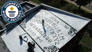 Largest Ouija Board - Guinness World Records