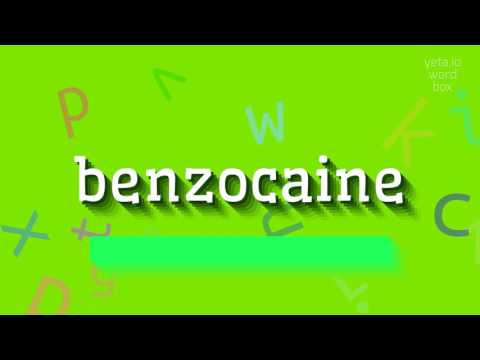 "How to say ""benzocaine""! (High Quality Voices)"