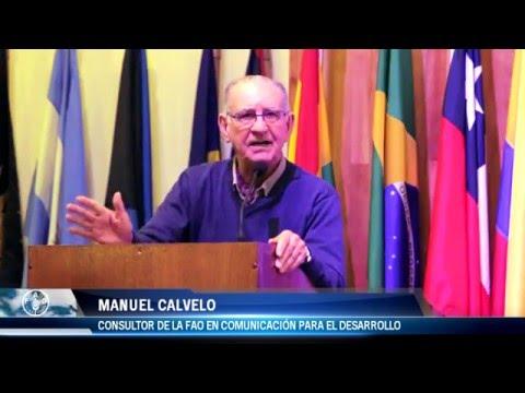 """Charla Magistral de Manuel Calvelo en la FAO - """"Comunicación para el Desarrollo"""""""