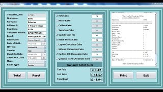 How to create a customer billing system in java netbeans, the tutorial, including print, generate random number, calculation tax, subtotal, total an...