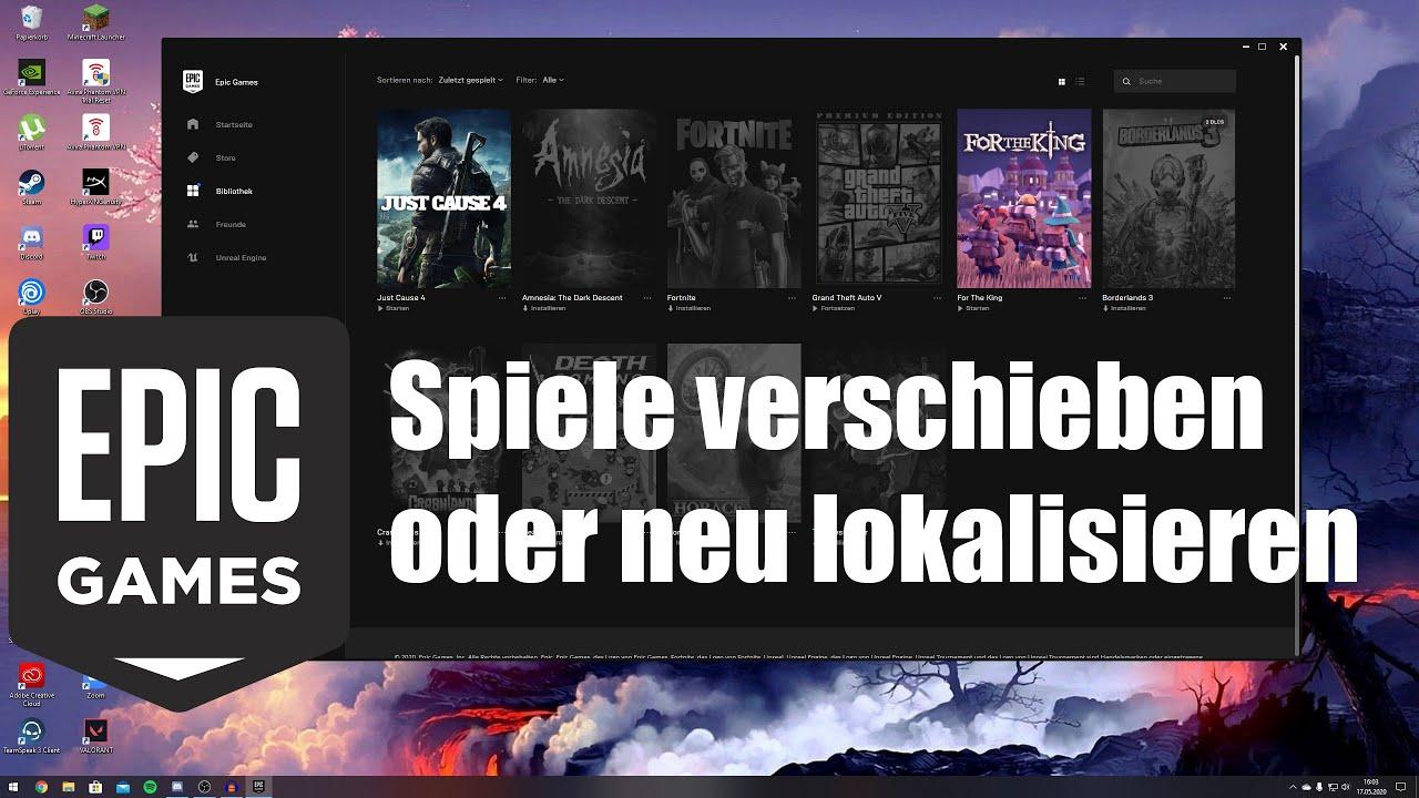 Epic Games Spiele Schenken