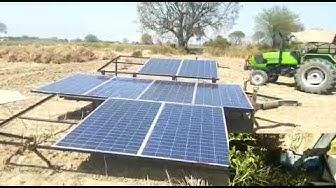 2 hp solar manoblock pump rewari khera (jhajjar) 9812537058 dt april 2019