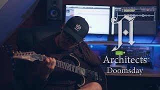 Architects | Doomsday | Guitar Cover by one handed guitarist + TAB