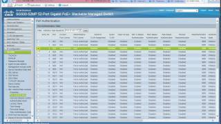 802.1X Authentication Using Windows AD and Cisco ISE for Cisco SX300/SX500