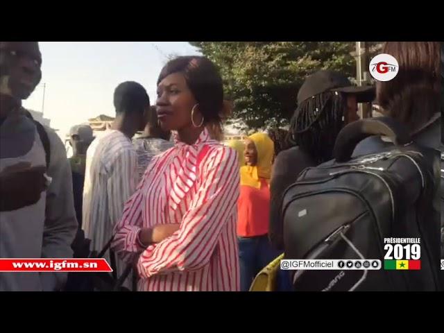 C'est le grand rush à l'université cheikh Anta DIOP de Dakar