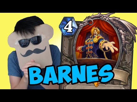 [Hearthstone] BARNES: The Meme Dream Machine (One Night in Karazhan Review)