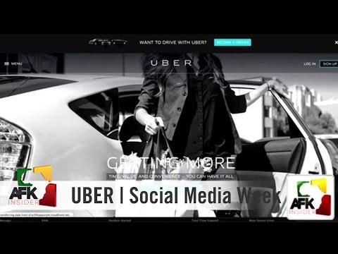 Social Media Week Johannesburg: Uber
