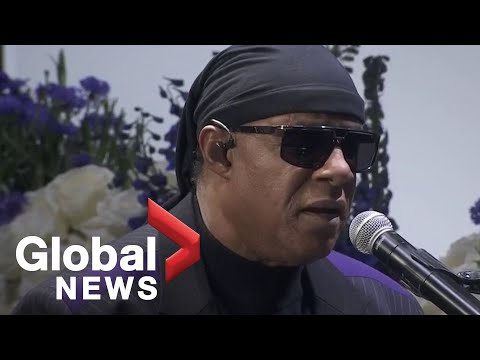 Nipsey Hussle funeral: Stevie Wonder pays tribute to late rapper