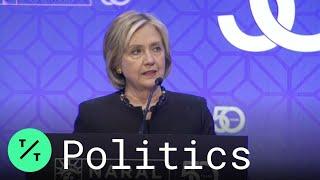 Hillary Clinton Says Trump Poses Danger to America's Democracy
