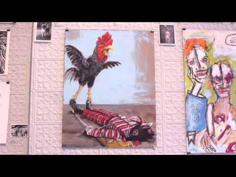 Paradise City Press: Artist Couple Matt Sesow & Dana Ellyn Visit FOE Gallery