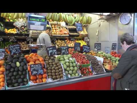 Fruit & Vegetables  Market - Mercado Central  Atarazanas - Malaga Spain