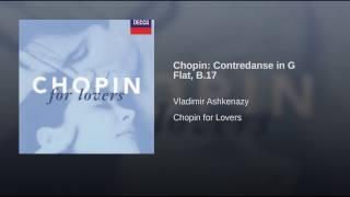 Chopin: Contredanse in G flat