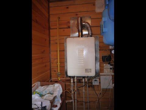 Проблема с отоплением газовым котлом 2 эт. дома из бруса.
