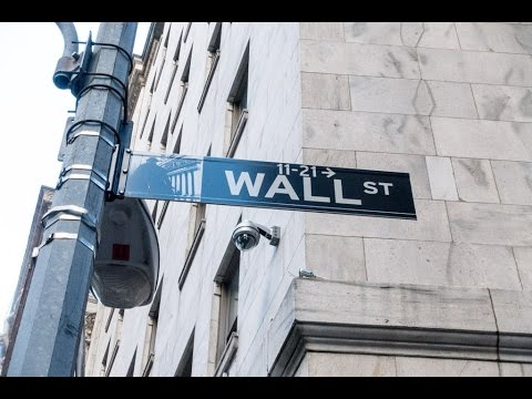 A walk along Wall Street in Manhattan, New York City, New York