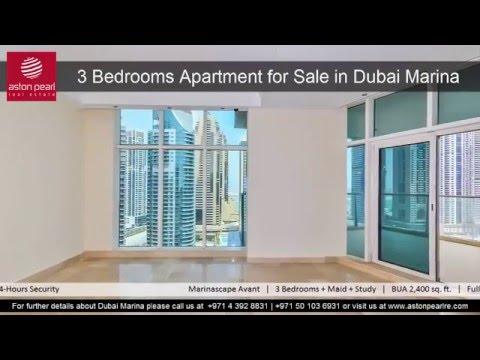 3 Bedroom Apartment For Sale in Dubai Marina, Marinascape Oceanic