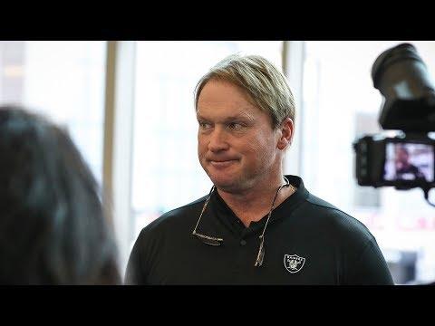 "Coach Jon Gruden: ""You don't rush the process"""