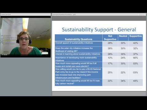 Sustainability initiatives in destination communities: Do they matter to tourists?