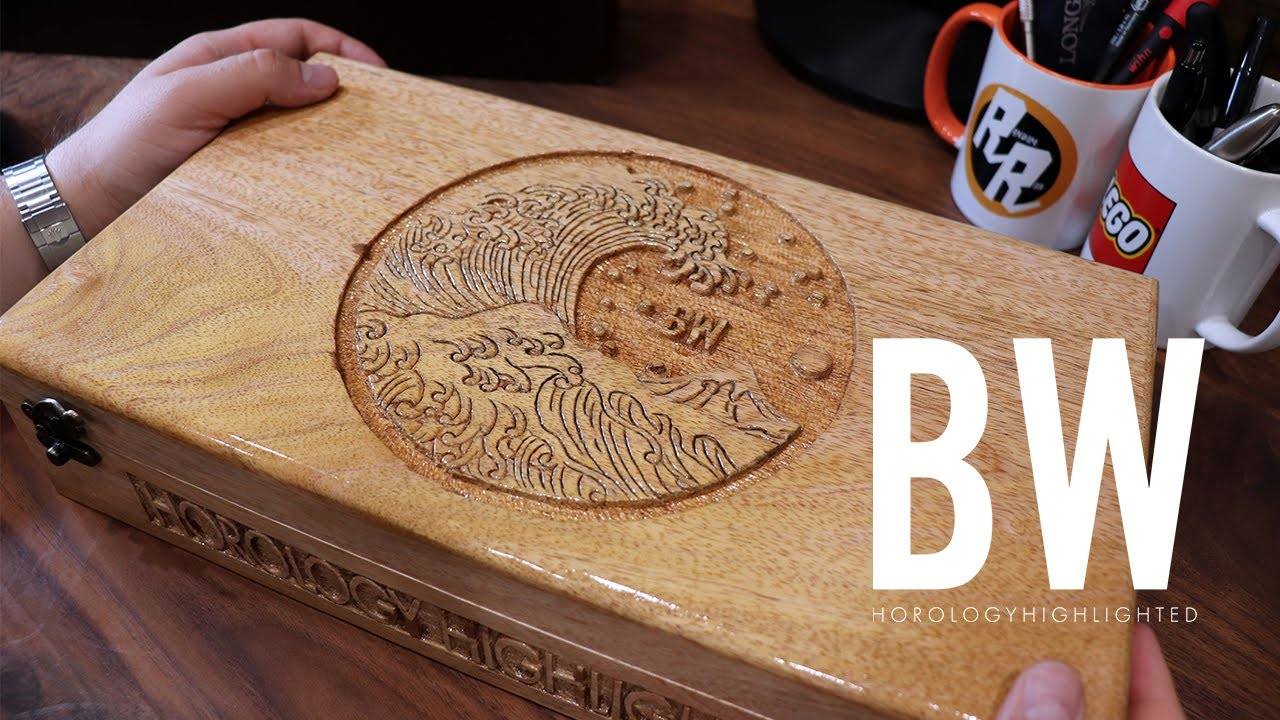 My custom wood watch box - Epiphany