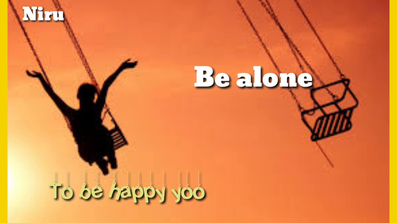 Be Alone Be Happy Kannada Ravichandran Song Youtube