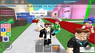 Playing Roblox this game is awesome
