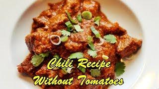 Chili Recipe Without Tomatoes