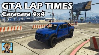Fastest Off-Road Vehicles (Caracara 4x4) - GTA 5 Best Fully Upgraded Cars Lap Time Countdown