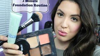 3 Minute Foundation Routine| Solange Glam TV