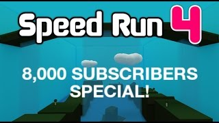 ROBLOX SPEED RUN 4 SONGS [ FULL SOUNDTRACK ] 8,000 SUBS SPECIAL!