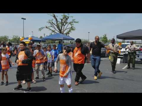 Compton home depot build, learn,workshop