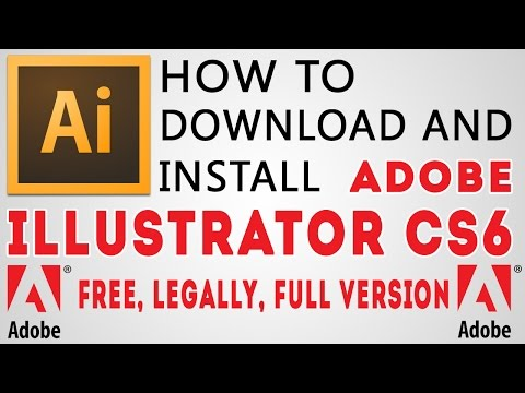 How To Download And Install Adobe Illustrator CS6 Free Legally - MHA vfx